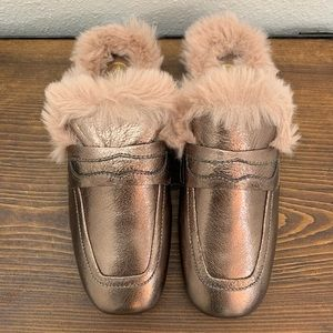 Ash Emotion Bis Mules in Ash Rose